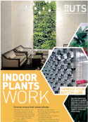 "UTS Brochure entitled ""Indoor Plants Work"""