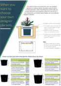 Plant/Pot relationship