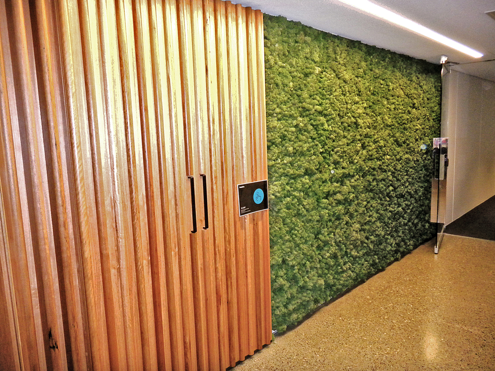 MOSS WALL AT DELOITTE