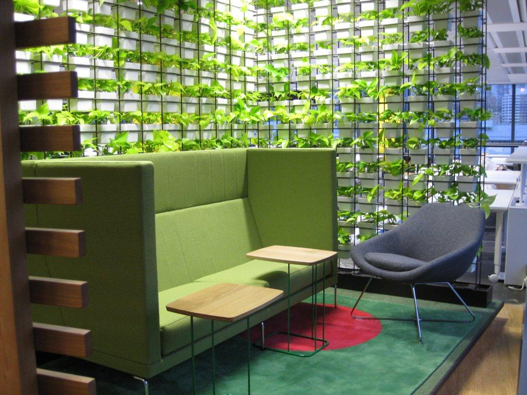 VERTICAL GARDEN AT GOOGLE