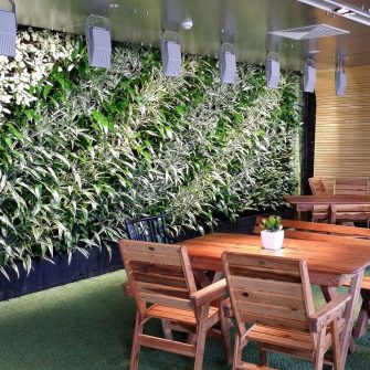 GREEN WALL IN TELSTRA