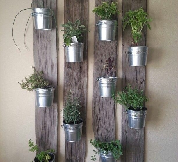 D.I.Y. VERTICAL GARDEN FOR YOUR OFFICE