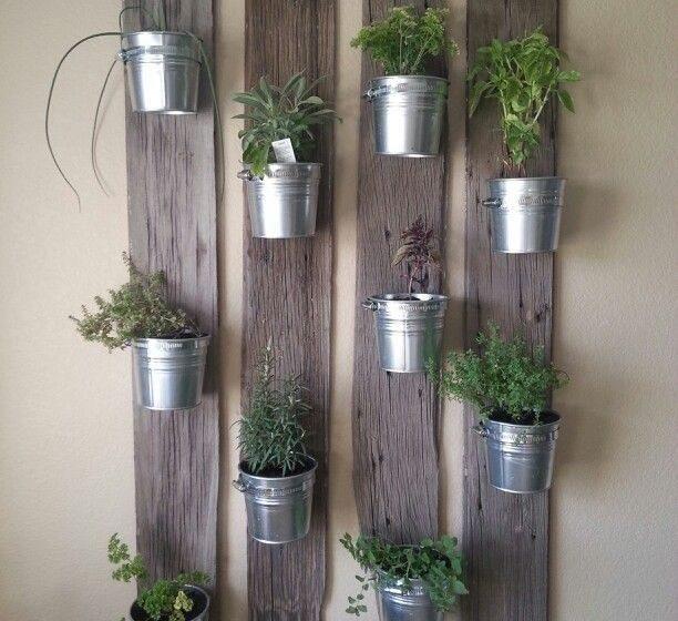 D I Y Vertical Garden For Your Office Green Design