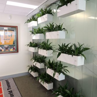 Cable Vertical Garden at AGS Transport World Sydney