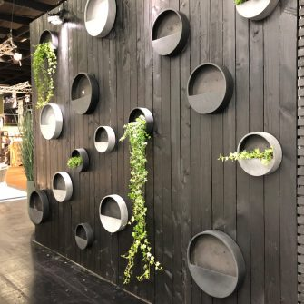 Geometric Wall Garden at Europe Show