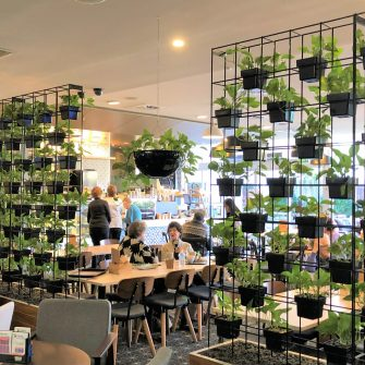 Traditional Vertical Garden at Gosford