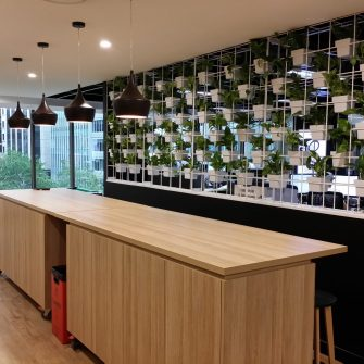 Traditional Vertical Garden at Nude by Nature Sydney