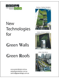 Green Roofs and Green Walls Technical Brochure